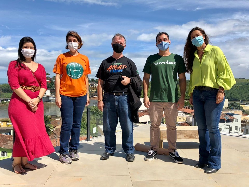 Equipe da Setur visita atrativos turísticos de Anchieta