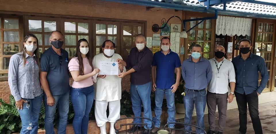 Socol produzido em Domingos Martins recebe certificado de concessão do Selo ARTE