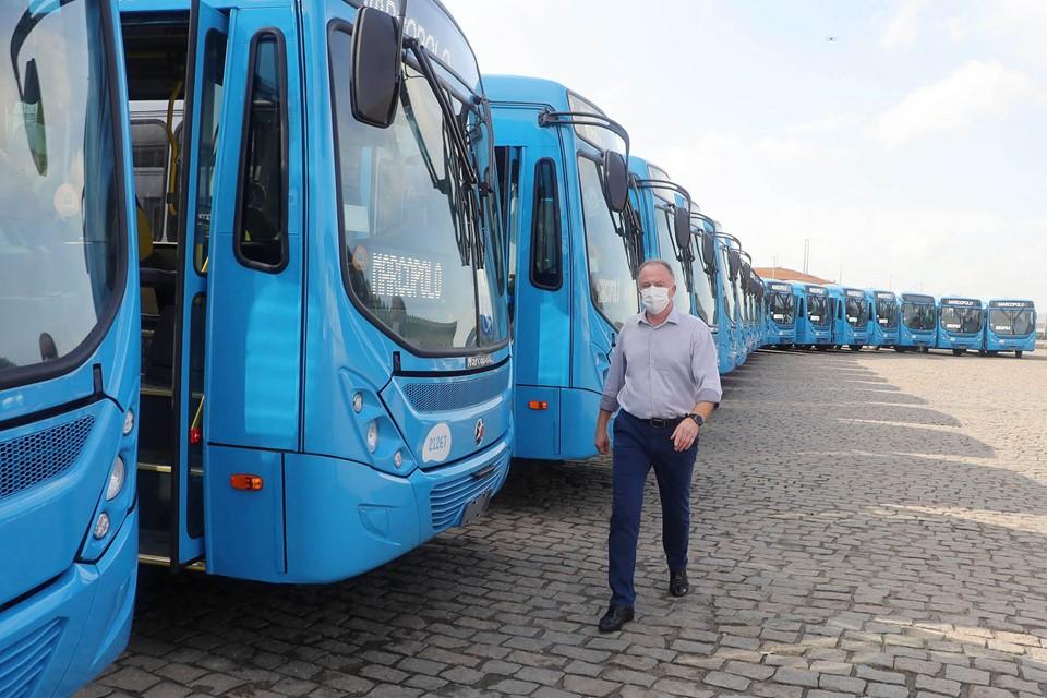 Frota do Sistema Transcol contará com 70 novos ônibus com ar-condicionado