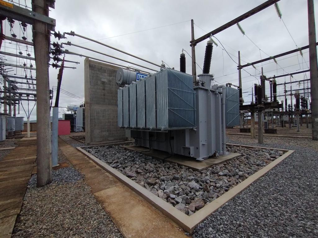 Santa Maria realiza energização de transformador na subestação de São Gabriel da Palha