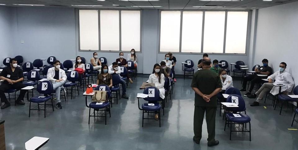 Hospital Estadual de Urgência e Emergência 'São Lucas' recebe turma de internos e residentes