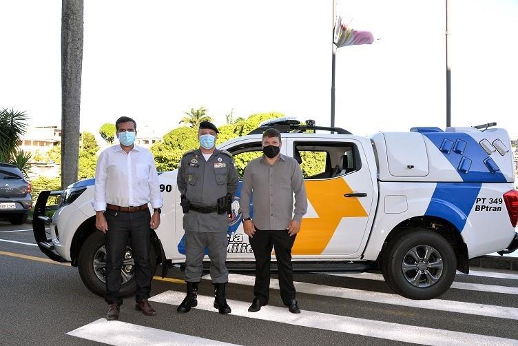 Polícia Militar recebe 14 novas viaturas