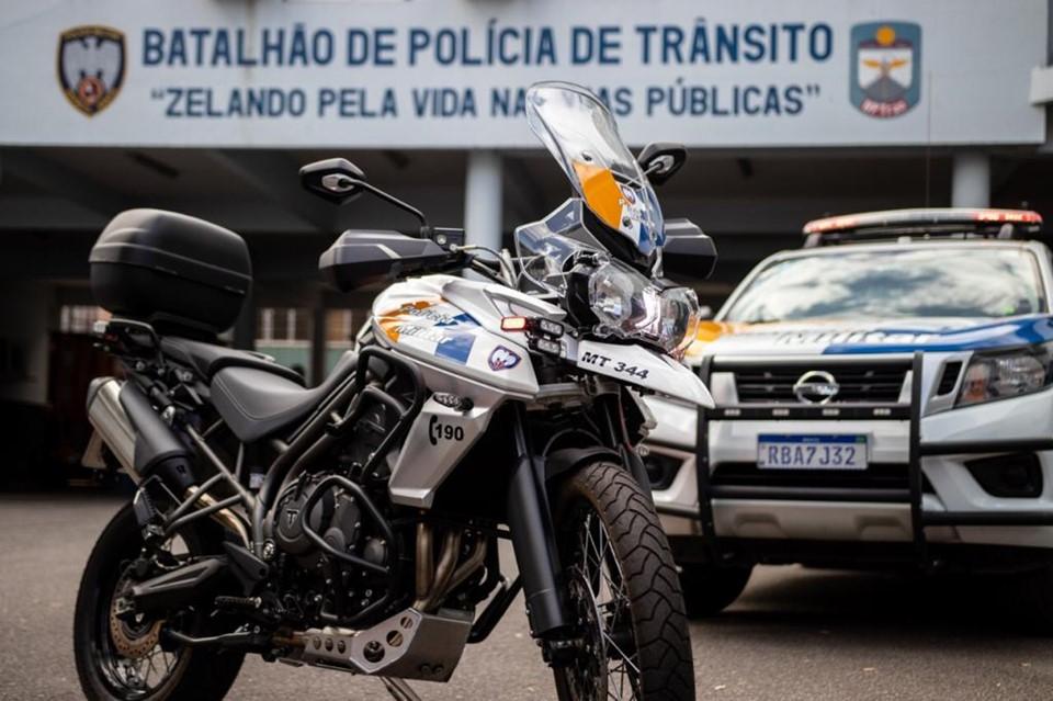 Detran|ES investe recursos de multas de trânsito em equipamentos para Polícia Militar