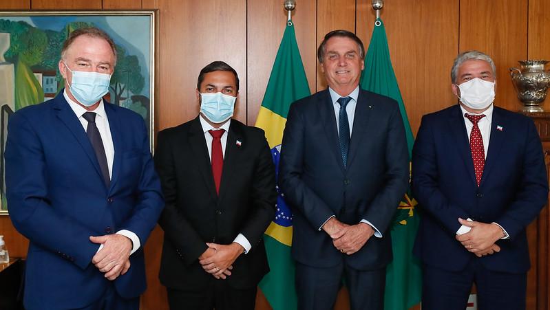 Casagrande se reúne com o presidente Bolsonaro em Brasília
