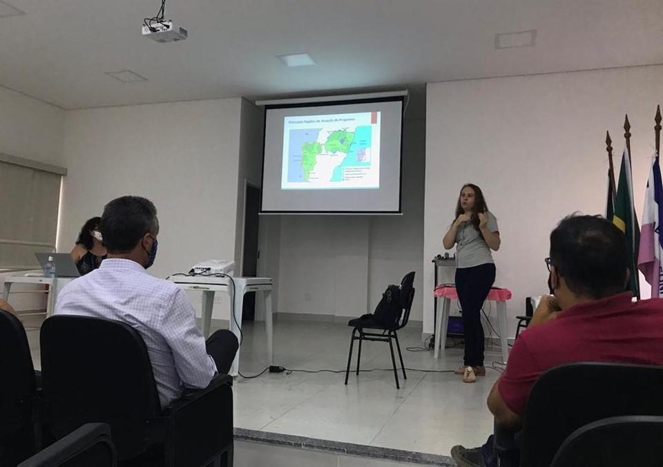 Projeto-piloto Rio Mangaraí foi apresentado para gestores públicos de Santa Leopoldina