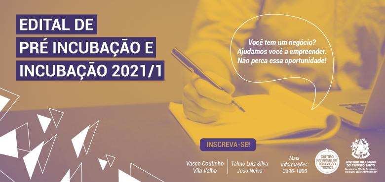 Programa de incubação de empresas do Governo do Estado lança editais de seleção com 42 vagas
