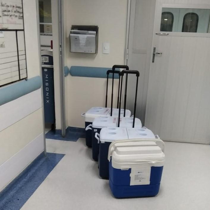 Hospital Estadual Central realiza 8ª captação de múltiplos órgãos em 2021