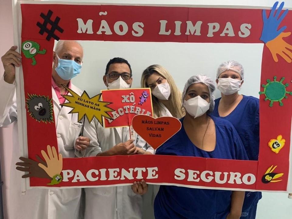 Hospitais realizam ações no Dia Mundial de Higienização das Mãos