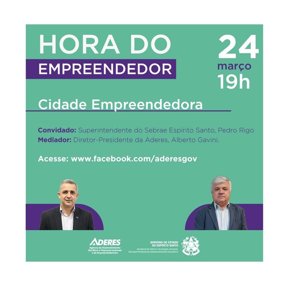 Programa Cidade Empreendedora é tema de webconferência da Aderes