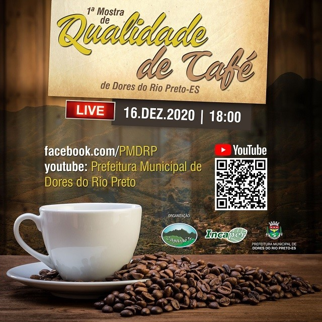 Resultado da I Mostra de Qualidade de Café de Dores do Rio Preto