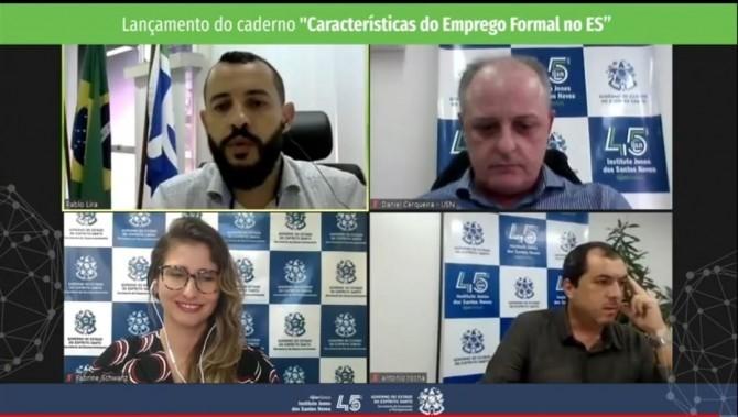 IJSN lança caderno com características do emprego formal no Espírito Santo