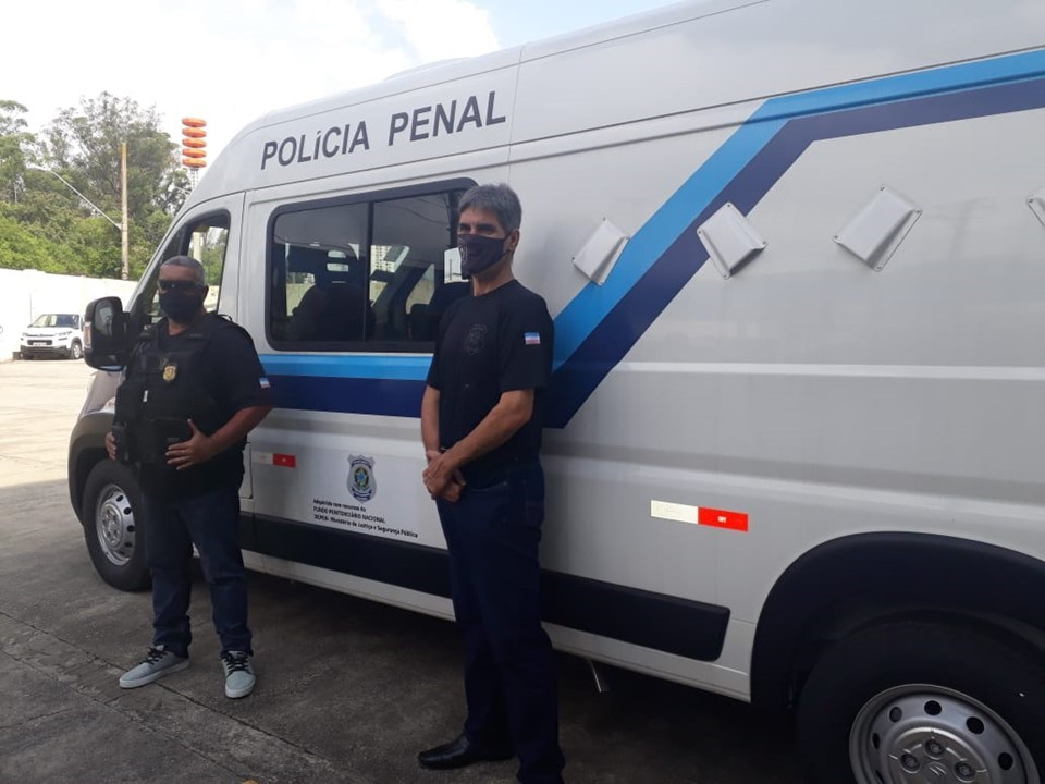 Sejus recebe 11 veículos do Departamento Penitenciário Nacional