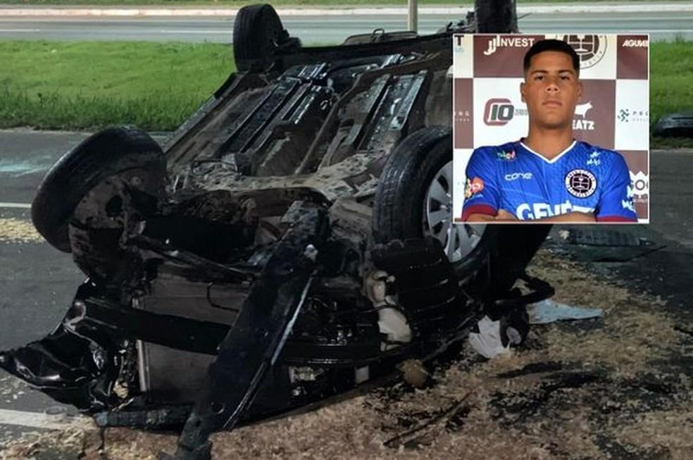 Ex-goleiro de times do ES morre em acidente aos 21 anos