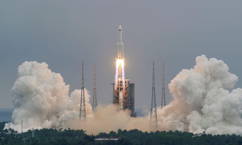 China lança módulo principal da sua 1ª estação espacial permanente
