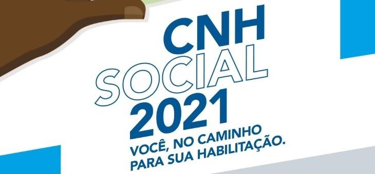 Governo do Estado lança 3 mil vagas no programa CNH Social 2021