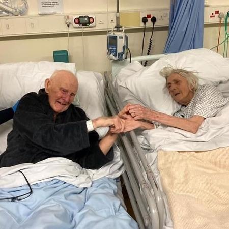 Casados por 70 anos, idosos têm último encontro antes de morrerem de covid