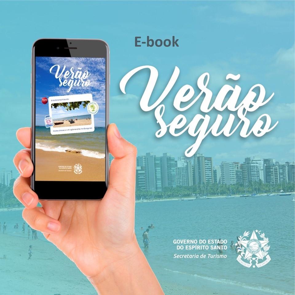 Secretaria de Turismo lança e-book Verão Seguro