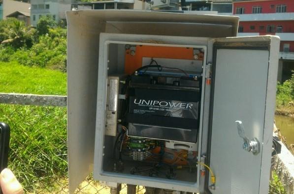 Estação de monitoramento de água volta a medir chuva e vazão em Ibitirama