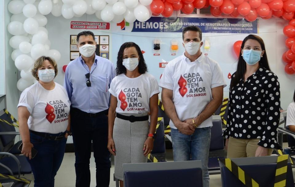 Ceasa e Hemoes firmam parceria para criar agenda de doações
