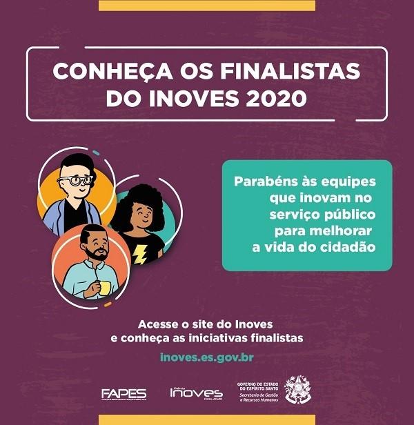 Projetos da Sejus estão entre os finalistas do Prêmio Inoves 2020