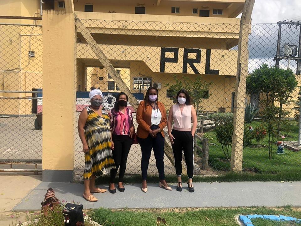 SEDH participa de atividades na Penitenciária Regional de Linhares em alusão ao Dia da Consciência Negra