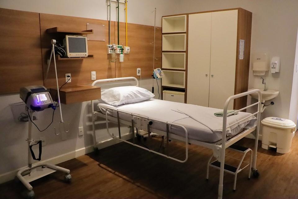 Governo do Estado amplia mais sete leitos clínicos de retaguarda em Vitória