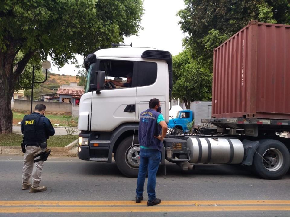 Sefaz realiza uma ação de fiscalização no trânsito a cada três dias