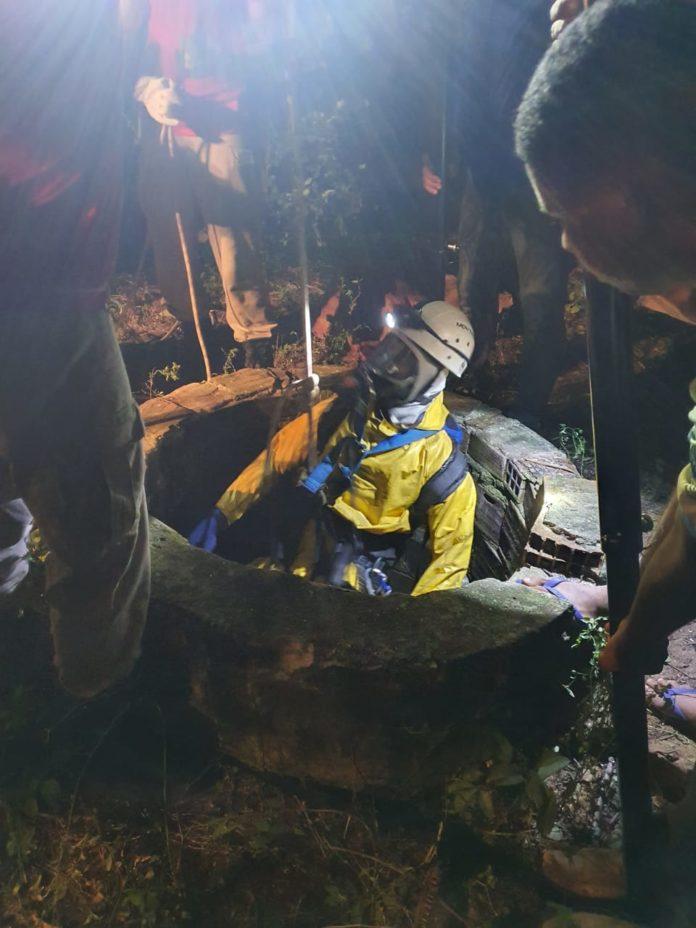 Corpo é encontrado dentro de poço em fazenda