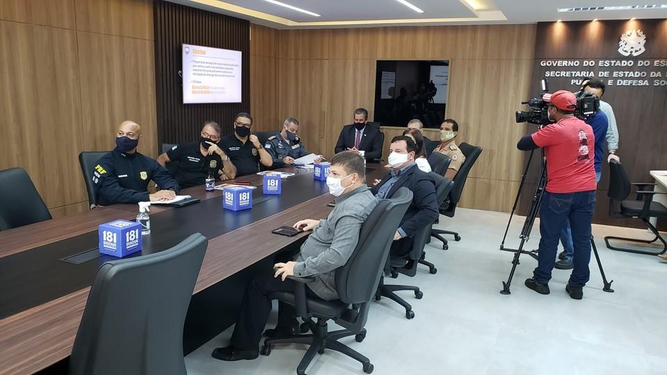 Operação Verão 2020/21 terá reforço de policiamento e ações para segurança sanitária no Estado