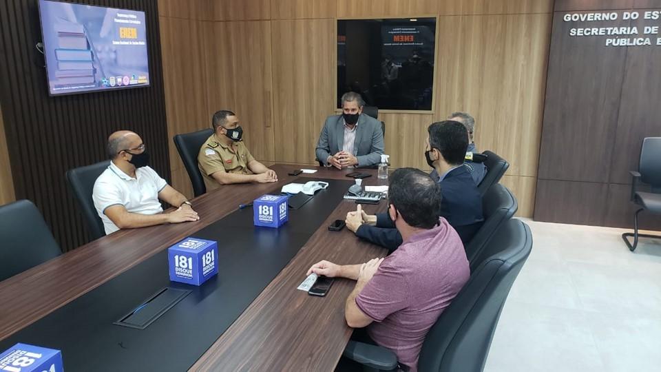Sesp divulga plano operacional das forças de segurança para Enem