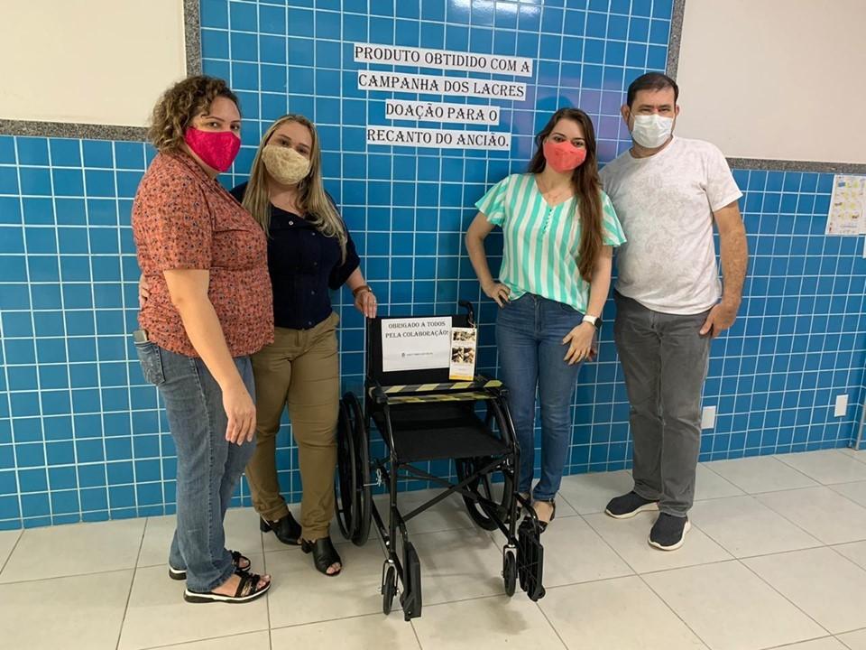 Solidariedade e empatia mobilizam alunos do CEET Talmo Luiz Silva, em João Neiva