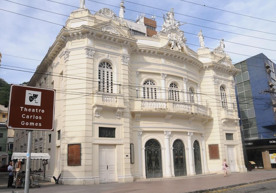 Secult apresenta projeto de restauração e reforma do Theatro Carlos Gomes