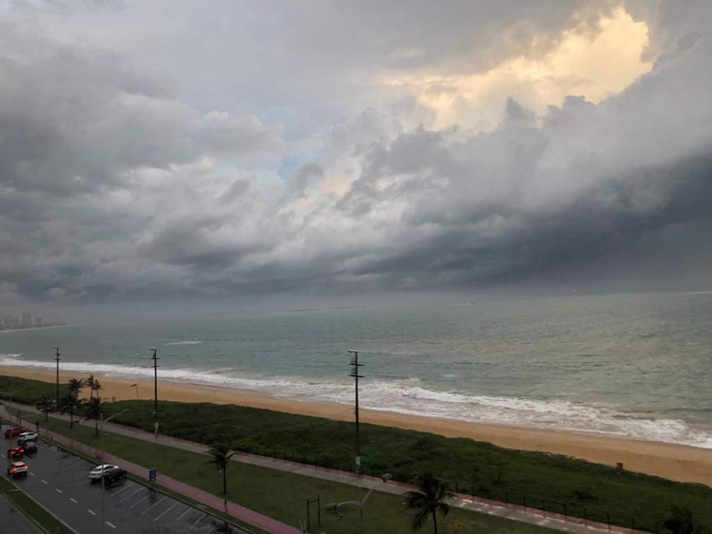 Previsão é de chuva forte até domingo no Espírito Santo