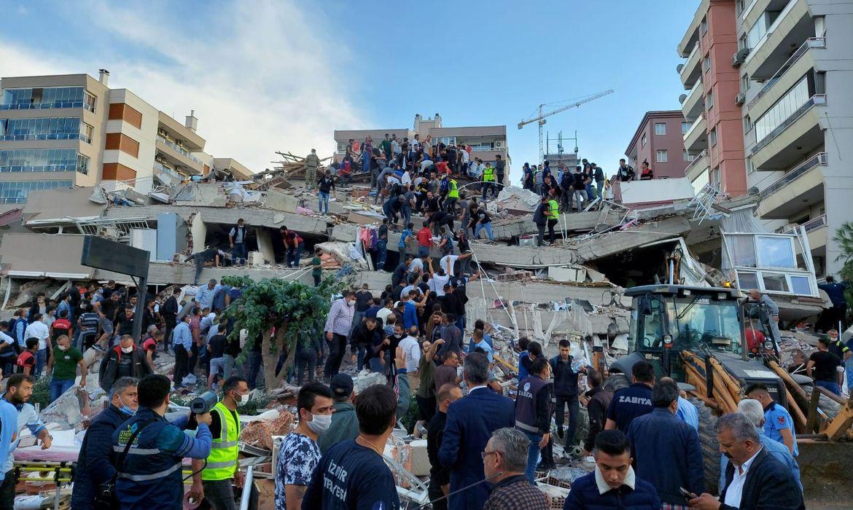 Forte terremoto atinge Mar Egeu, Turquia e Grécia