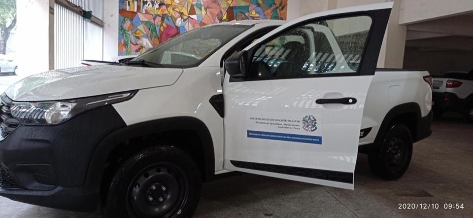 Cooperativa de Santa Maria de Jetibá recebe veículo