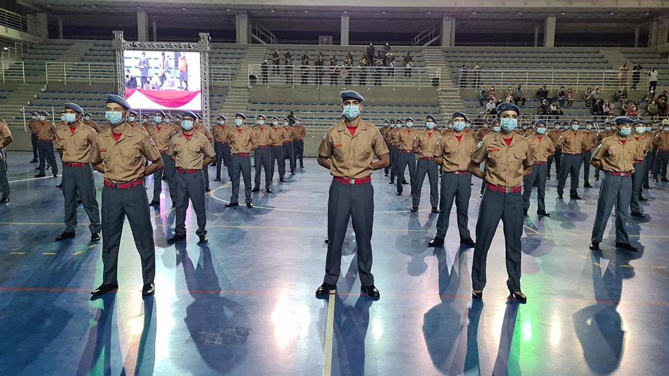 Corpo de Bombeiros Militar forma 146 novos soldados da Corporação