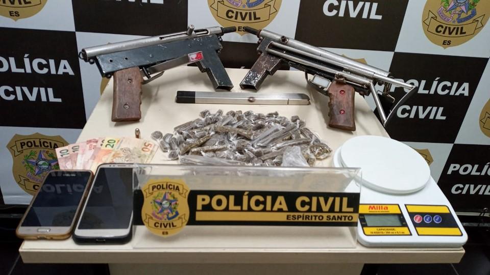 Integrantes de associação criminosa envolvida em diversos homicídios são presos em Cariacica