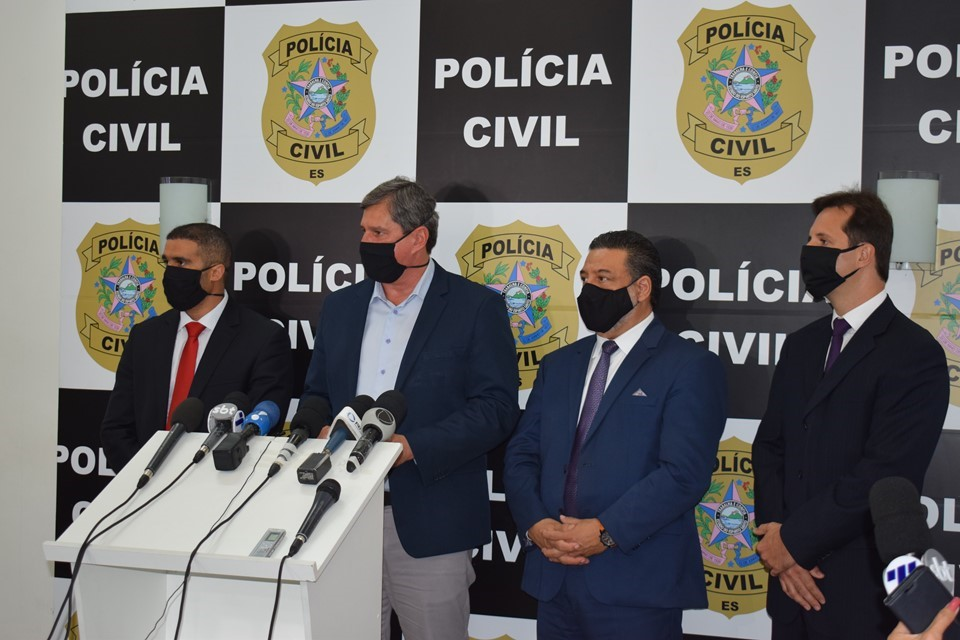 Em coletiva PC fala sobre prisão do suspeito de engravidar menina de 10 anos