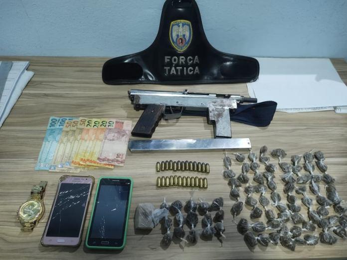 Polícia prende dois suspeitos de tráfico em São Gabriel da Palha