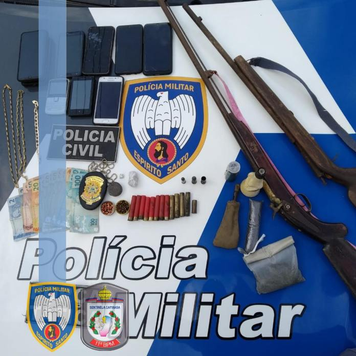 Operação integrada é realizada entre PM/PC em Alto Rio Novo
