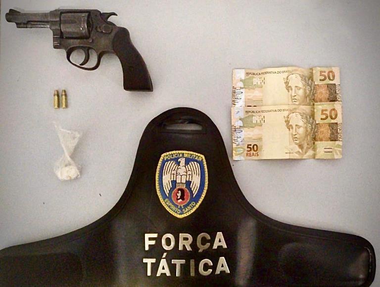 PM apreende arma, droga e dinheiro na Operação Sentinela VI em Água Doce do Norte