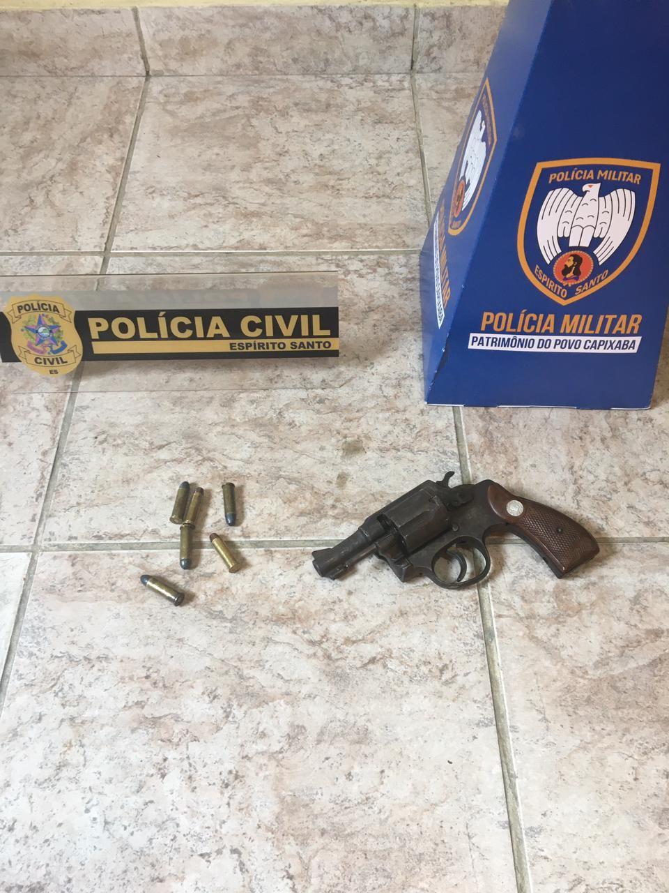 Suspeito de posse ilegal de arma de fogo é detido em Ecoporanga