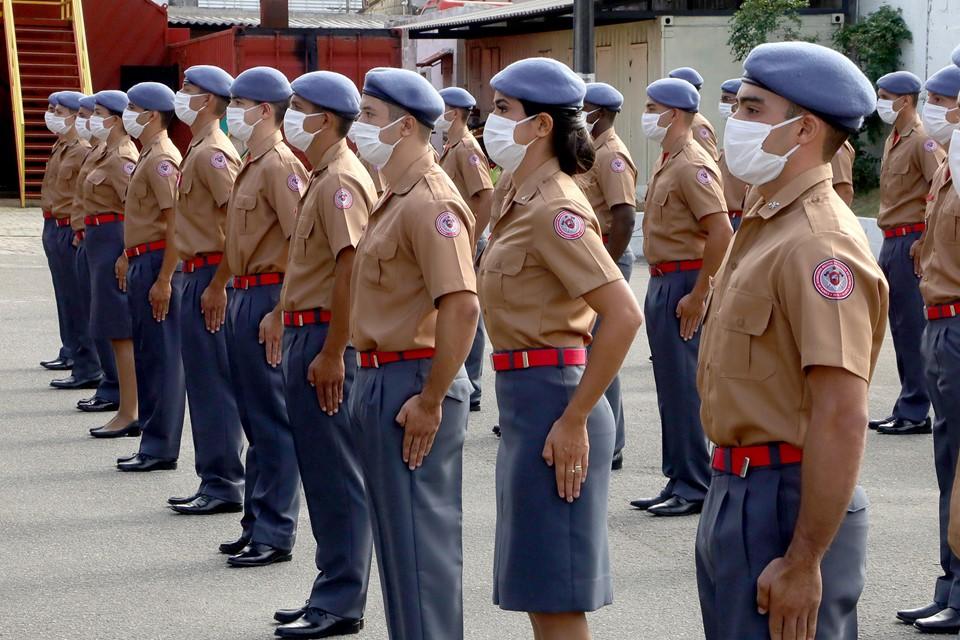 Corpo de Bombeiros Militar forma 36 novos soldados da Corporação