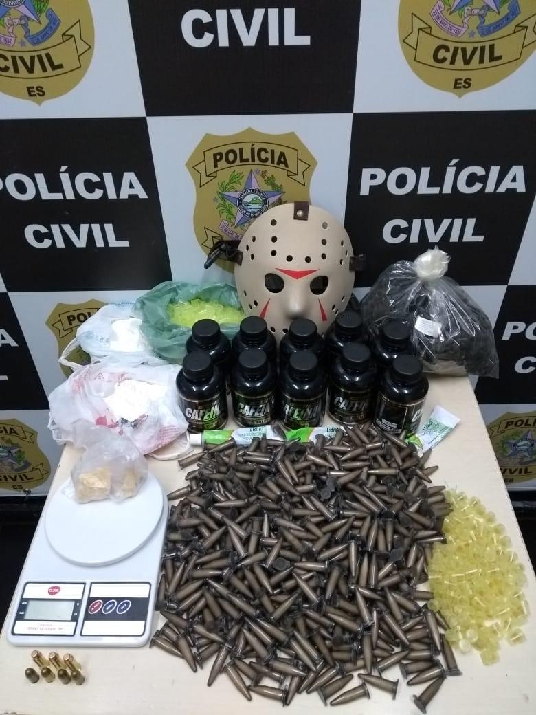 Suspeitos de tráfico de drogas e homicídio são detidos em operação da Polícia Civil