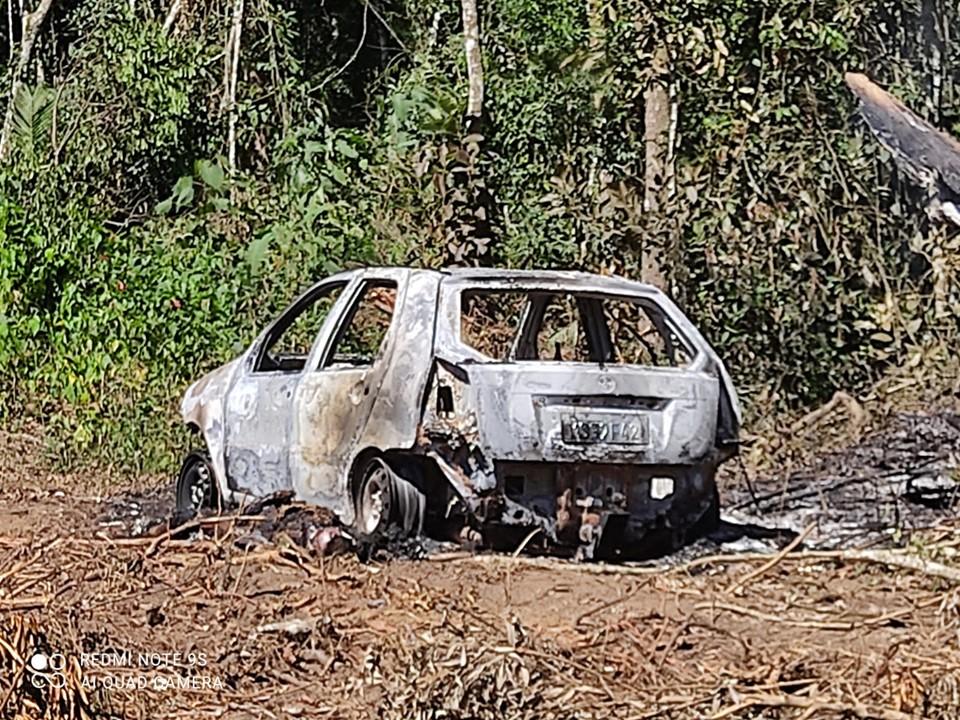 PCES prende suspeito de matar homem e incendiar carro