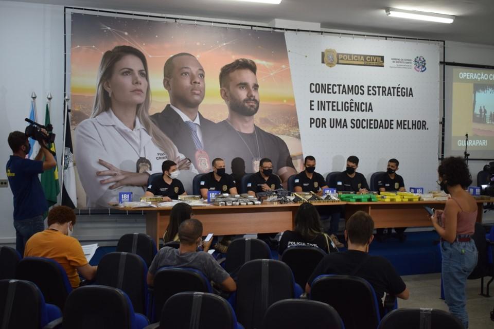 Operação Chicago II prende 39 suspeitos de tráfico de drogas no Espírito Santo