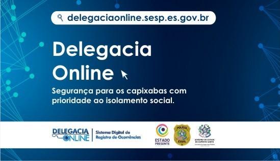Delegacia Online é opção segura para registro de ocorrências durante a pandemia