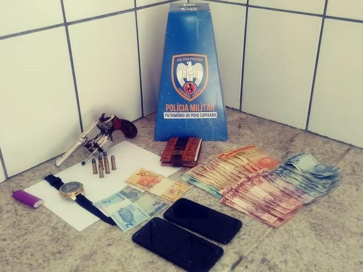 Polícia Militar detém jovens e apreende arma e drogas em Boa Esperança e Nova Venécia