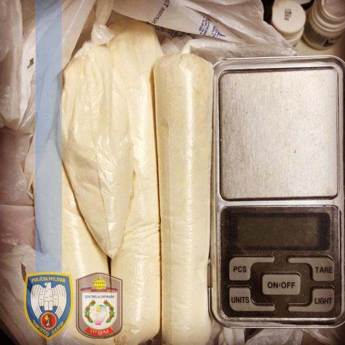 Polícia descobre local utilizado para fabricação de drogas e prende suspeitos