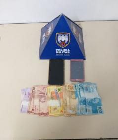 Polícia Militar apreende moeda falsa e detém três suspeitos em São Gabriel da Palha